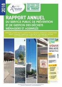 2018 - Rapport annuel - Service Gestion des Déchets 2018