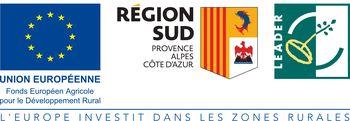Projet LEADER financé par l'Europe et la Région SUD