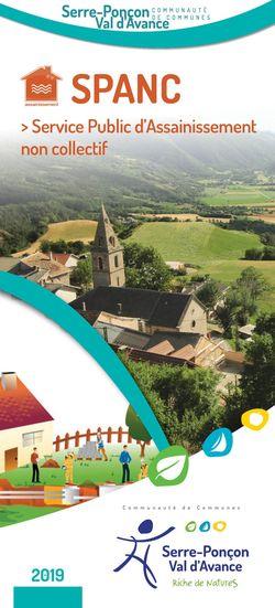 Brochure de présentation du SPANC