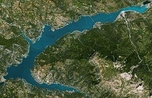 Carte du Lac de Serre-Ponçon