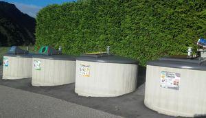 Création d'un nouveau point de tri à Espinasses (cimetière)