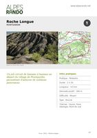 """MONTGARDIN - """"Roche Longue"""" Boucle 2h30 - 10 km / Moyen"""