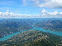 Lac de Serre-Ponçon et son barrage