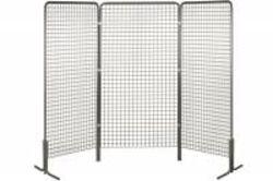 25 grilles d'exposition métal (2m x 1m)