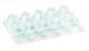 Barquette plastique d'oeufs