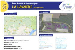 1 - ZAE La Lauzière / La Bâtie-Neuve