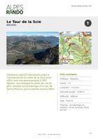 """BREZIERS """"Le Tour de la Scie"""" Boucle 7h - 23,2 km / Difficile"""