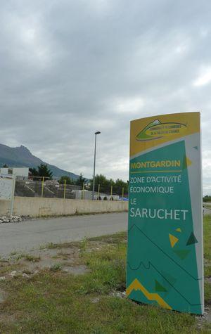 ZAE LE SARUCHET à Montgardin