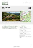 "AVANCON ""Les Frâches"" Boucle 2h30 / 9.3 km - Moyen"