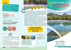 Flyer Base de loisirs Les 3 Lacs - 2021