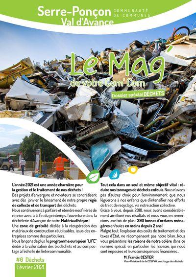 Le Mag' #6 spécial Déchets
