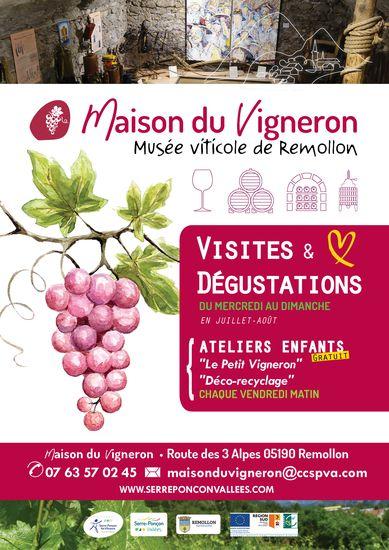 La Maison du Vigneron de Remollon