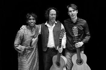 Avec Jeremy Jouve Mathias Duplessy et Prabhu Edouard