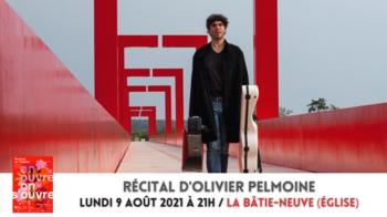RÉCITAL D'Olivier Pelmoine 09-08 LA BATIE-NEUVE