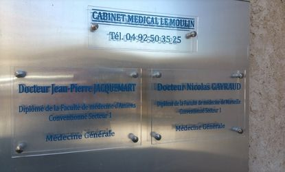 Cabinet médical à La Bâtie-Neuve