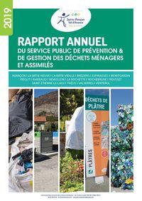 2019 - Rapport annuel - Service Gestion des Déchets