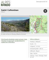 """PIEGUT """"Saint Collomban"""" Boucle 3h - 6,2 km / Moyen"""